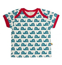 loud+proud Kids t-shirt - blue snails