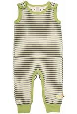 loud+proud Sleepsuit - green striped