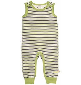 loud+proud Sleepsuit - green striped