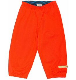 loud+proud Children's trousers - waterresistant - orange