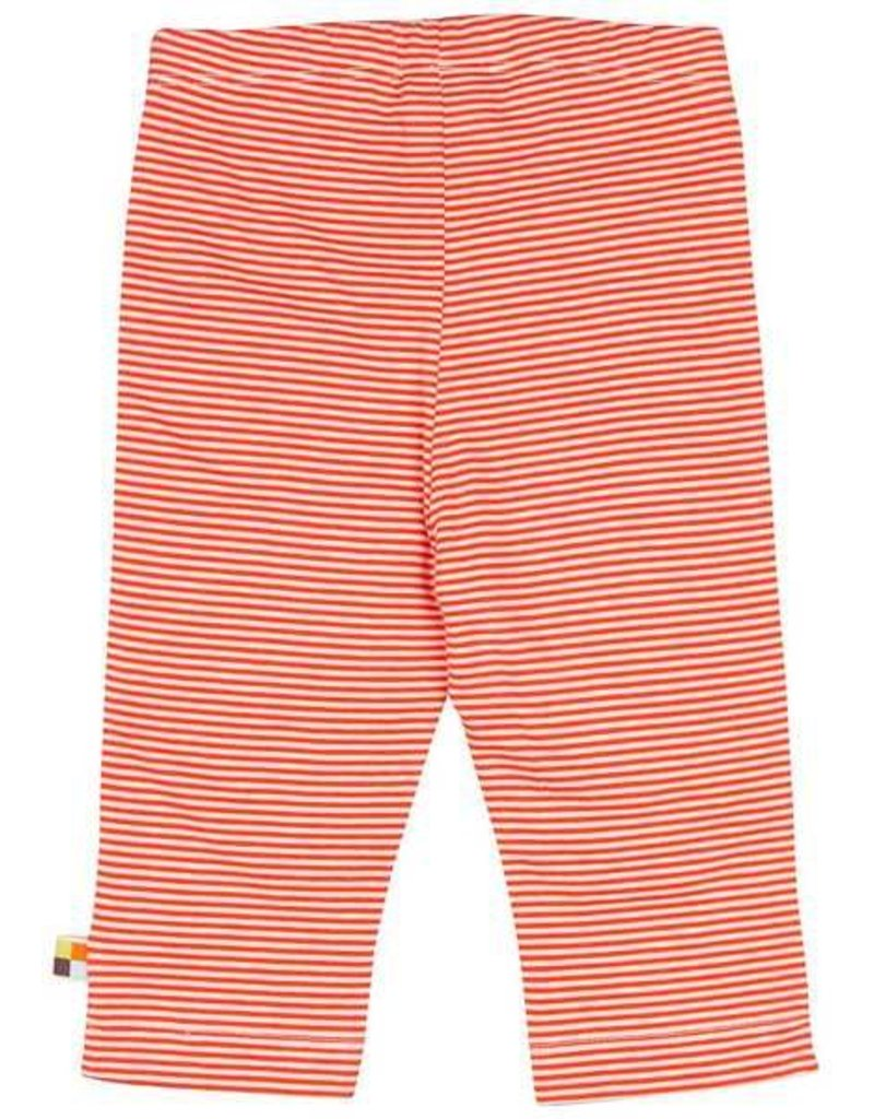 loud+proud Kinderbroek (dun) - oranje gestreept