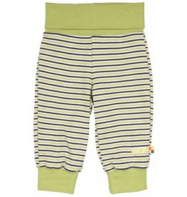 loud+proud Children's trousers - green striped