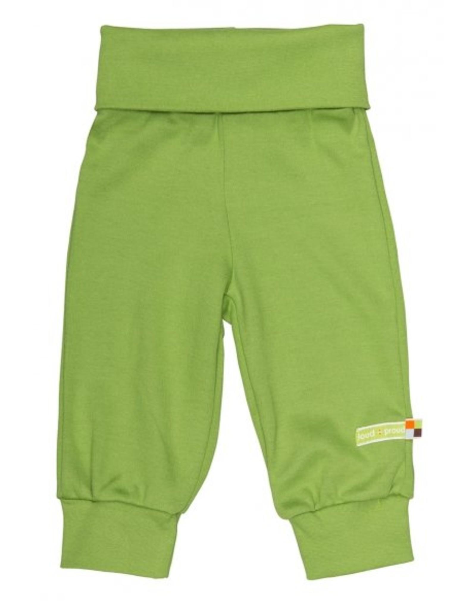 loud+proud Kinderbroek - groen