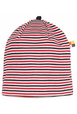 loud+proud Children's hat - red blue stripes