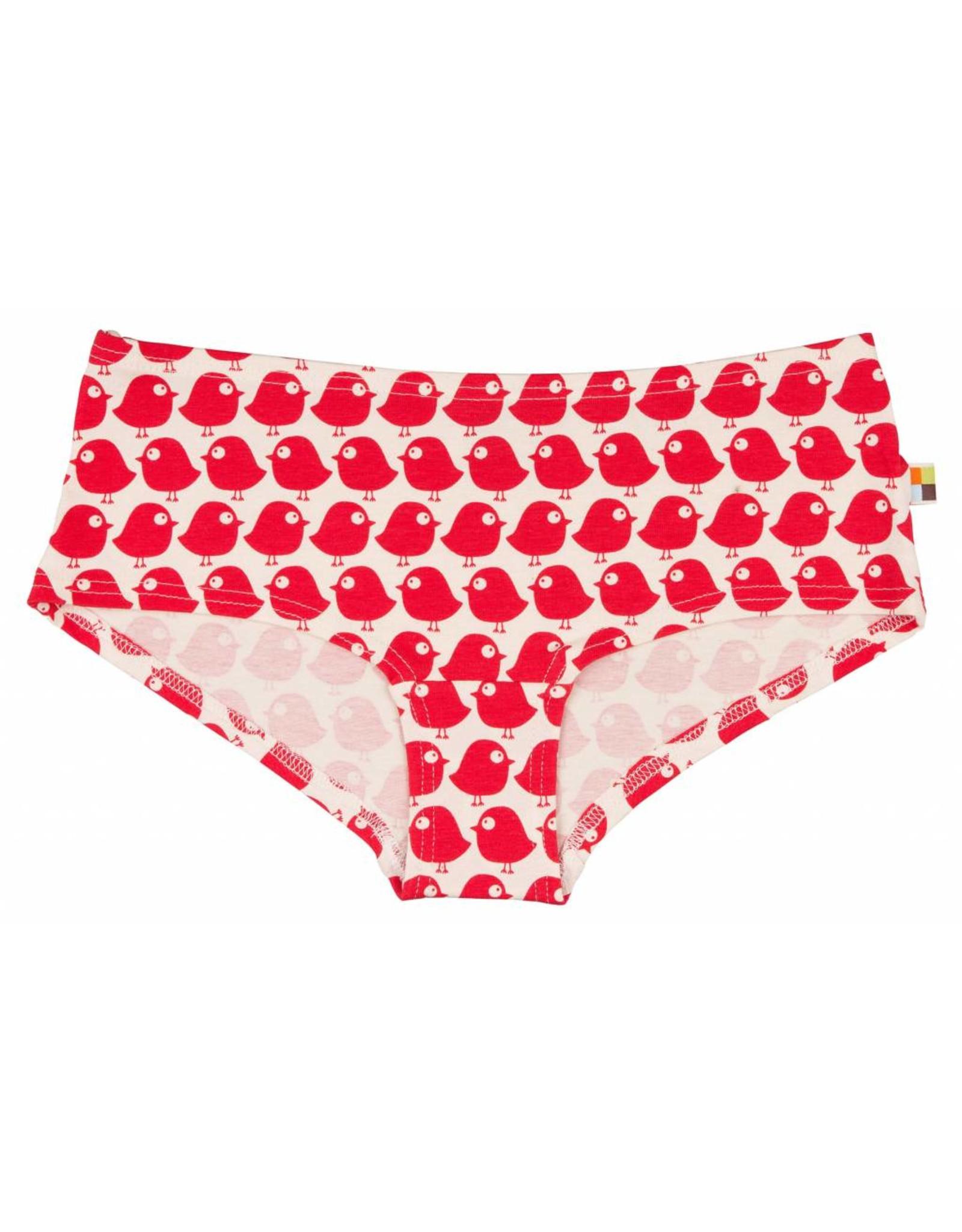 loud+proud Ladies panties - red birds