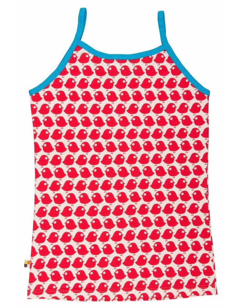 loud+proud Ladies top - red birds