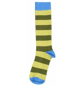 Duns Kids stockings - green striped