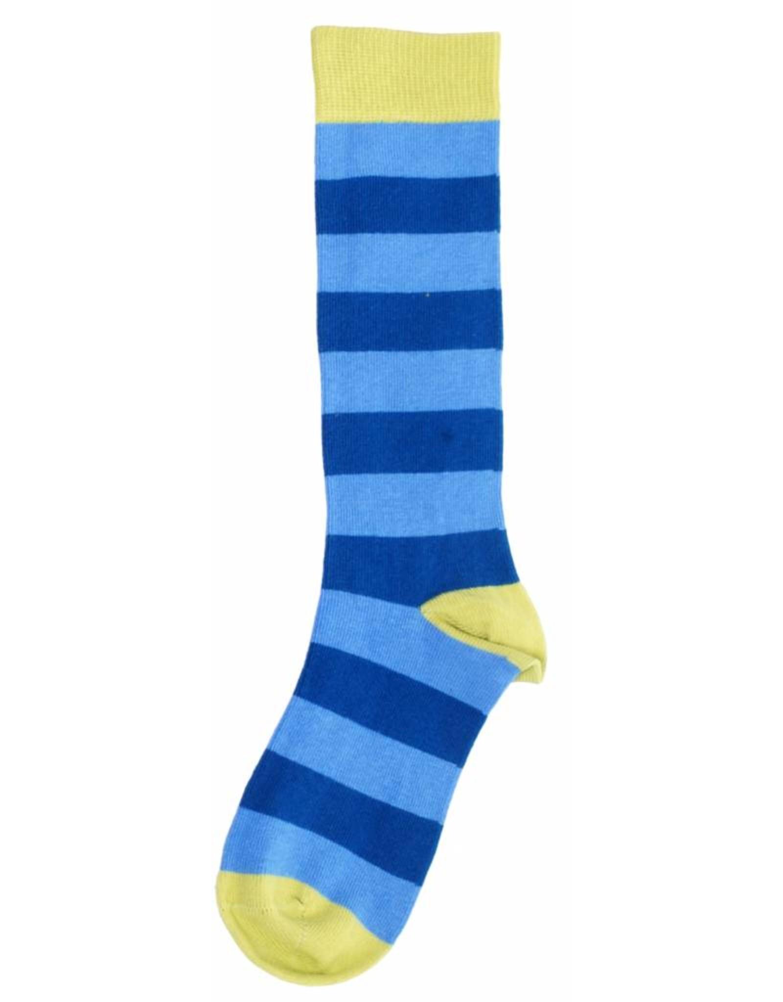 Duns Kids stockings - blue striped