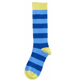 Duns Kids stockings - blue striped
