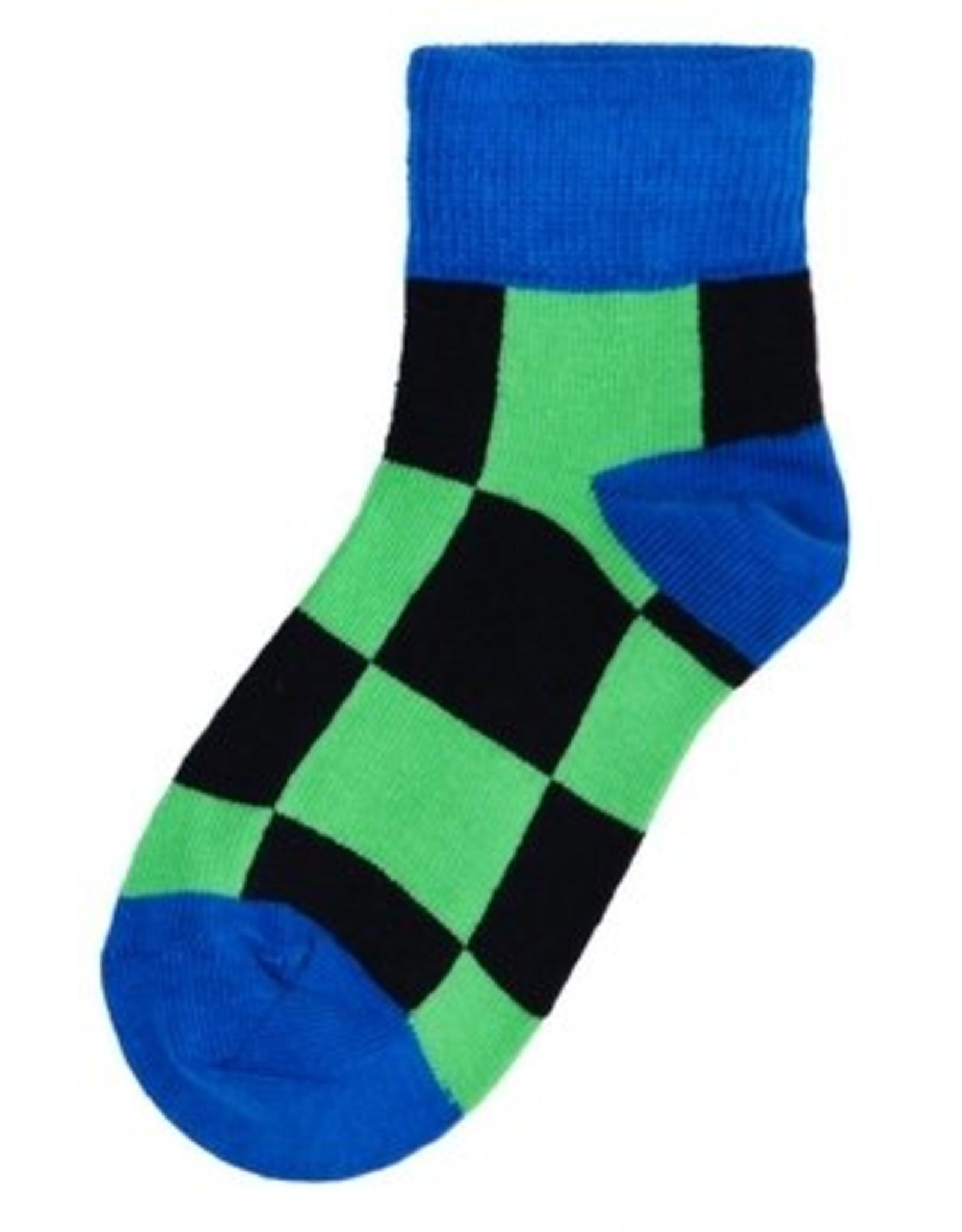 Duns Kids socks - blue green