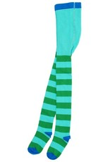 Duns Children's maillots - green striped