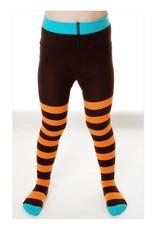 Duns Children's maillots - orange brown stripes