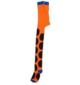 Duns Kinder maillots - oranje bruine stippen