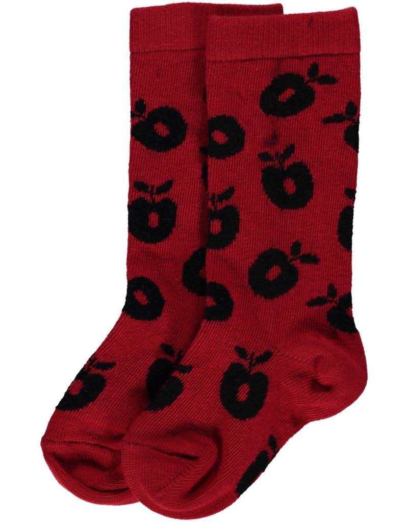Smafolk Children's socks - red apples