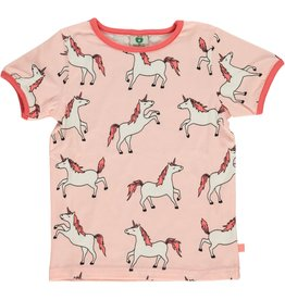 Smafolk Kids t-shirt - pink unicorns