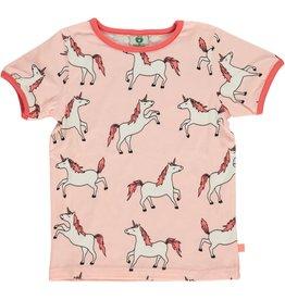 Smafolk Kinder t-shirt - roze eenhoorns