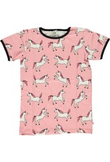 Smafolk Kids t-shirt - pink unicorn