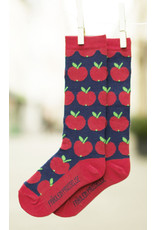 Fräulein Prusselise Children's knee socks -apples