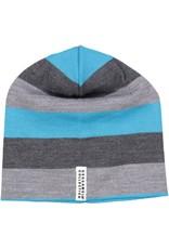 Geggamoja Woolen hat - grey blue
