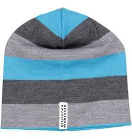 Geggamoja Woolen hat - grey blue
