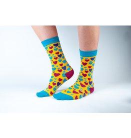 Doris & Dude Socks - hearts