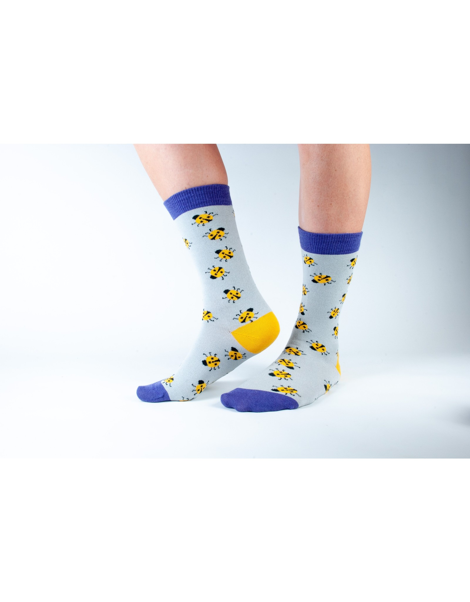 Doris & Dude Socks - lady bugs (36-40)