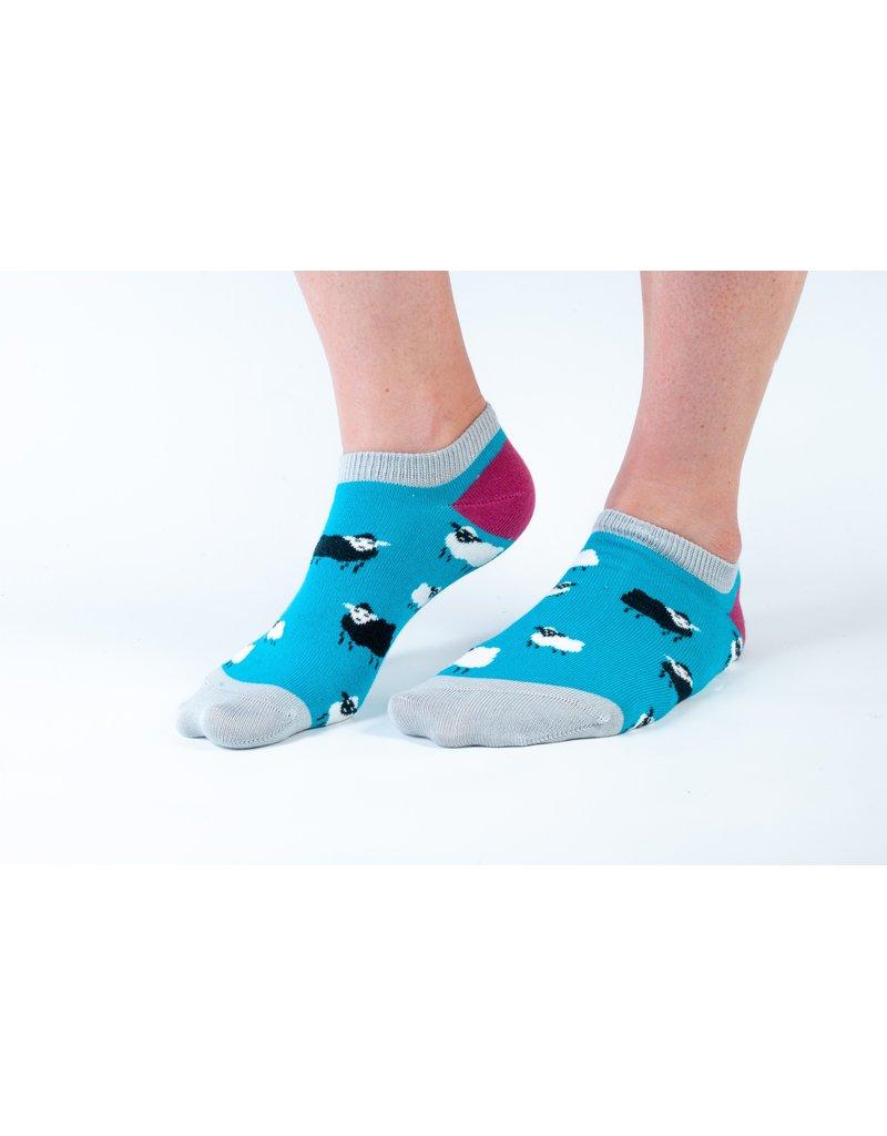 Doris & Dude Ankle socks - sheep (36-40)