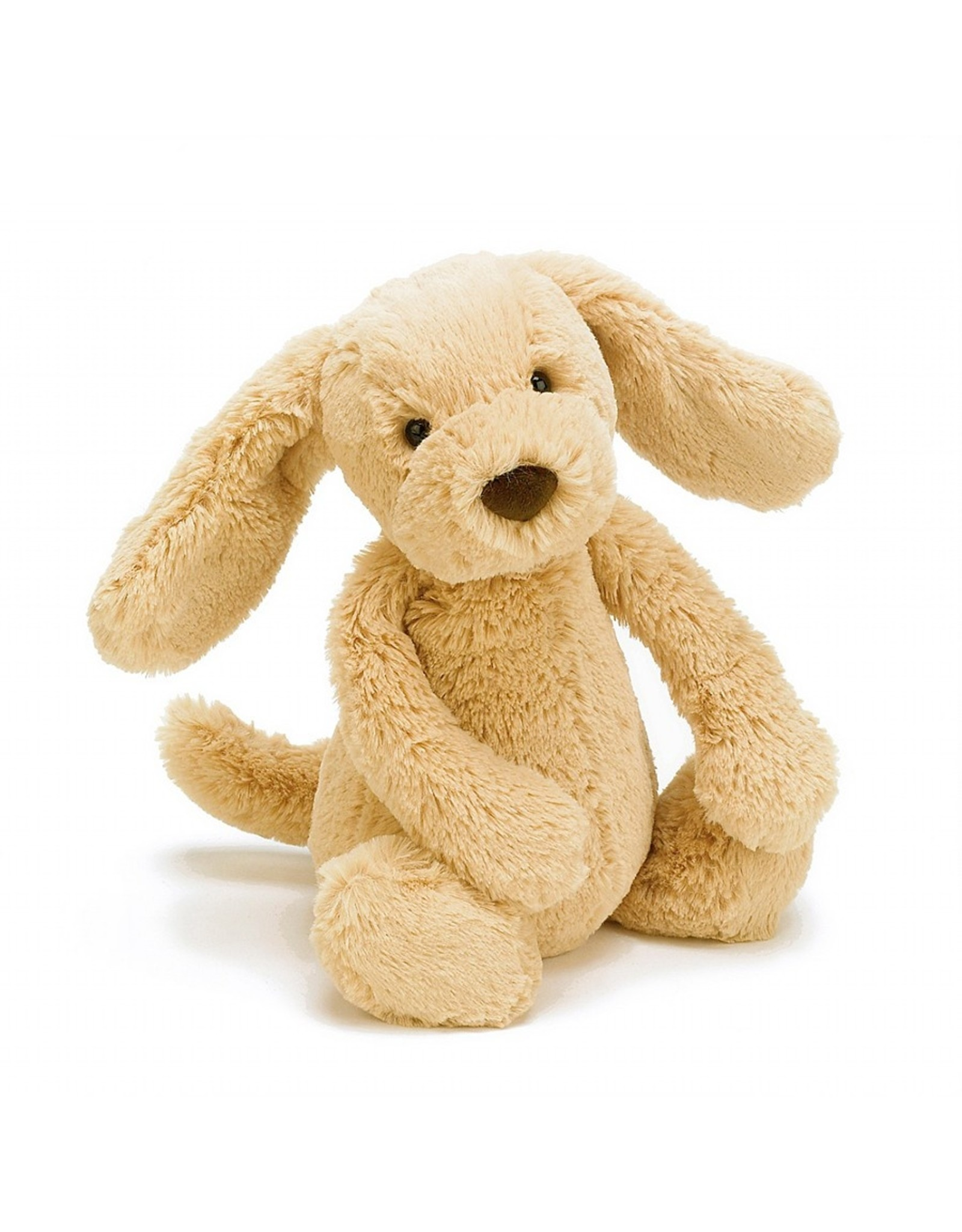 Jellycat stuffed animal - bashful toffee puppy - medium