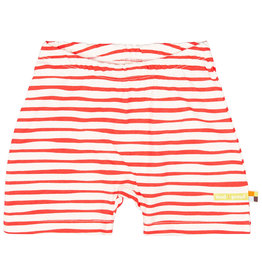 loud+proud Kids shorts - red stripes