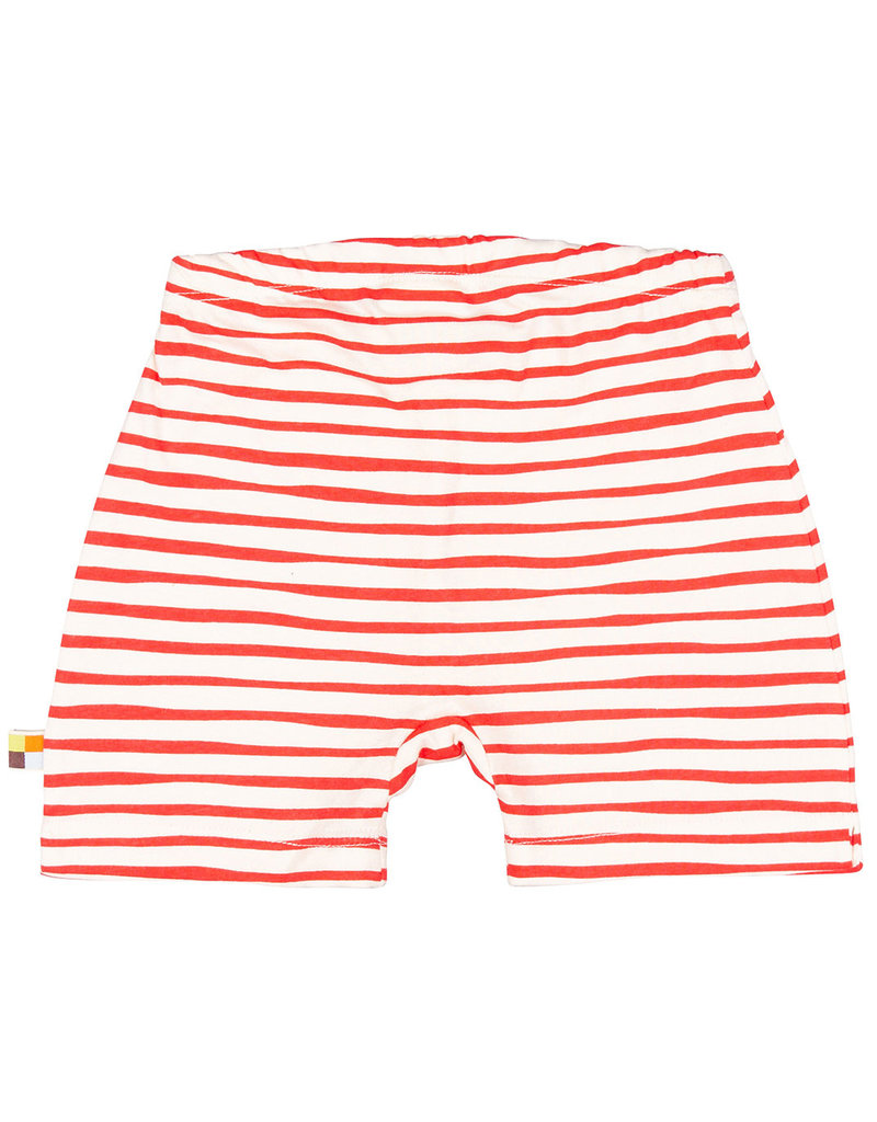 loud+proud Kids shorts - red stripes
