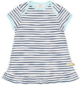 loud+proud Summer dress - blue stripes