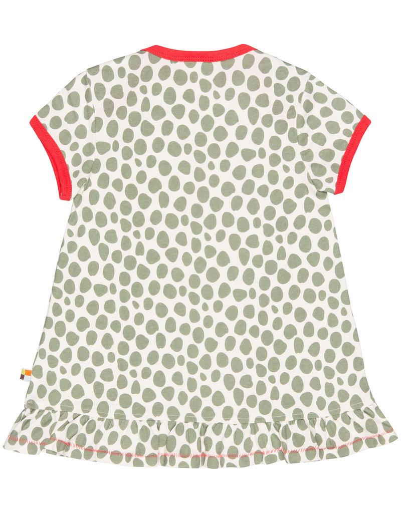 loud+proud Zomerjurkje - luipaard spots