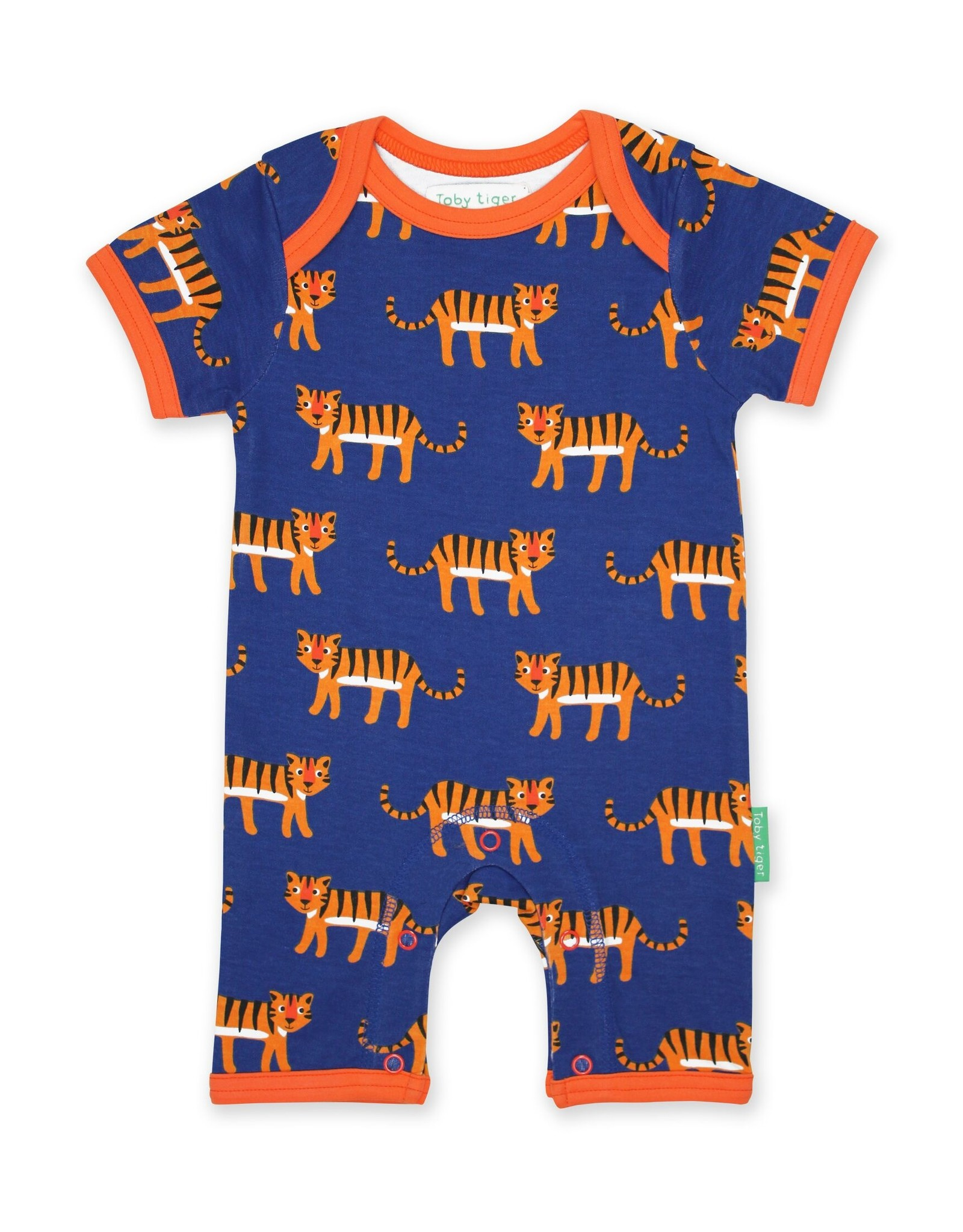 Toby Tiger Baby summersuit - tigers
