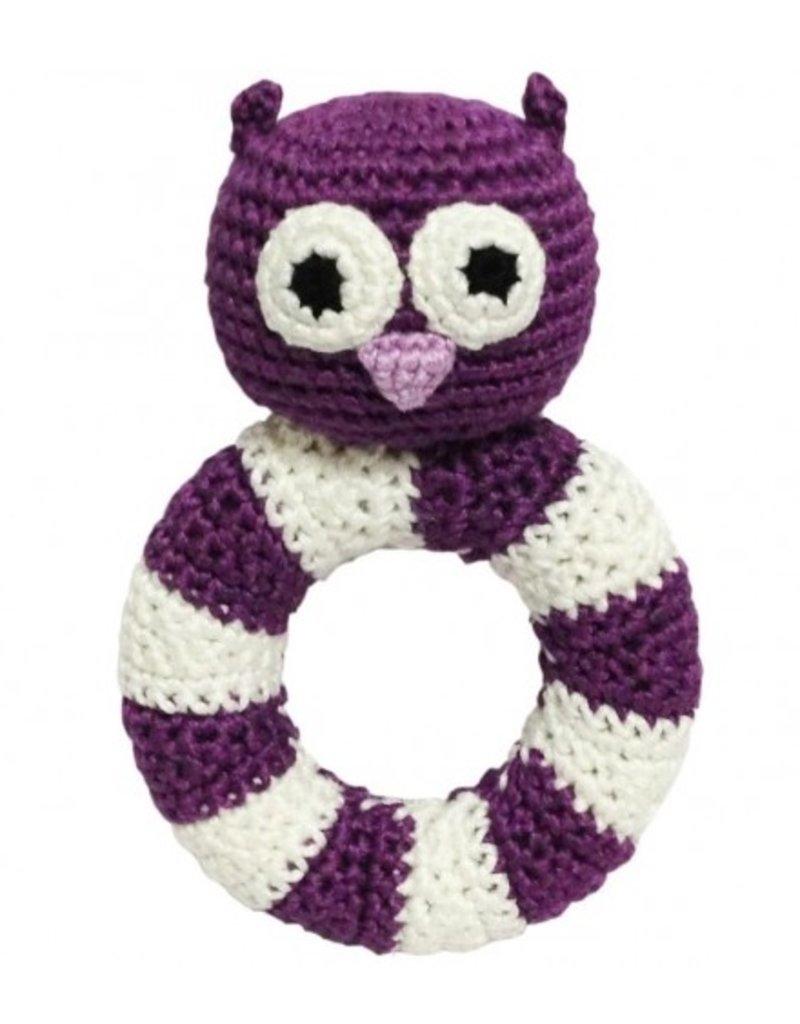 natureZOO rattle - miss Owl
