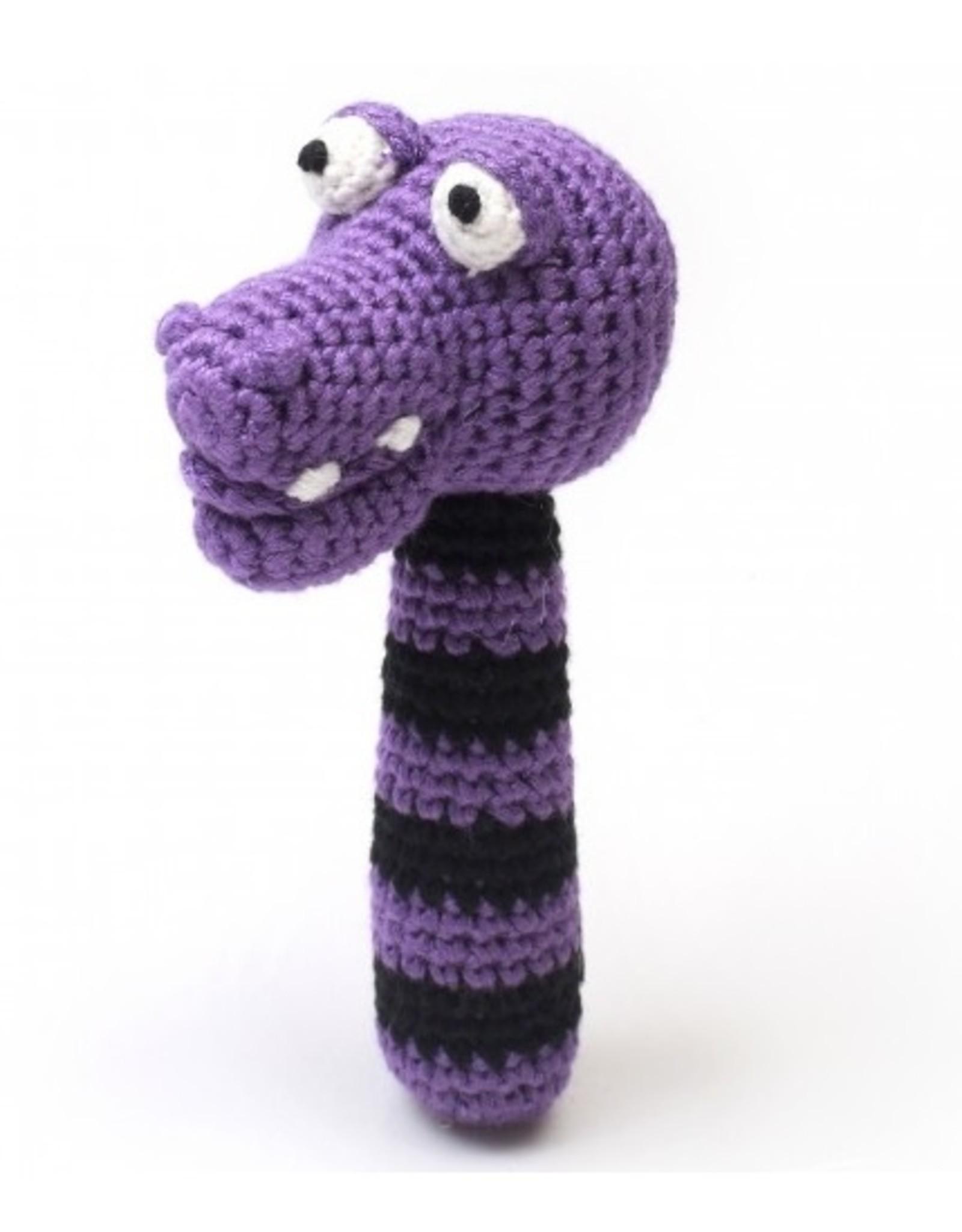 natureZOO stickrattle - miss Croc