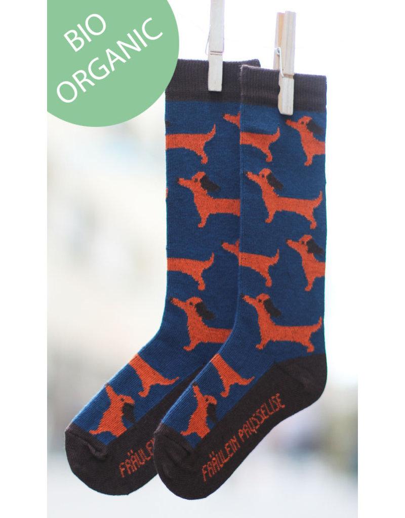 Fräulein Prusselise Children's knee socks - dogs