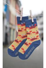 Fräulein Prusselise Children's socks - crabs