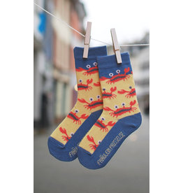 Fräulein Prusselise Children's socks - crabs