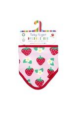 Toby Tiger Baby bib - rainbow - strawberry
