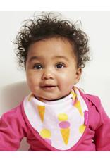 Toby Tiger Baby bib - icecream