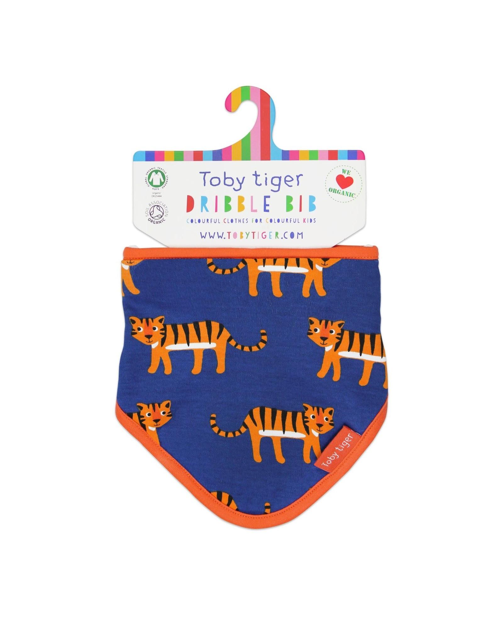 Toby Tiger Baby slabbertje - tijgers