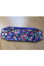 Huisteil Wristband - purple flowers