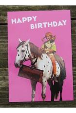 Pippi Langkous Pippi Langkous verjaardagskaart - witje