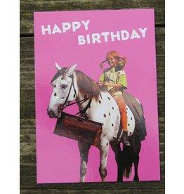 Pippi Langkous Pippi Longstocking birthday card - Little Old Man