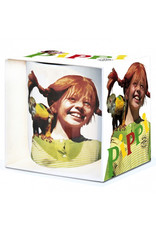 Pippi Langkous Mug - Pippi with mr Nilsson