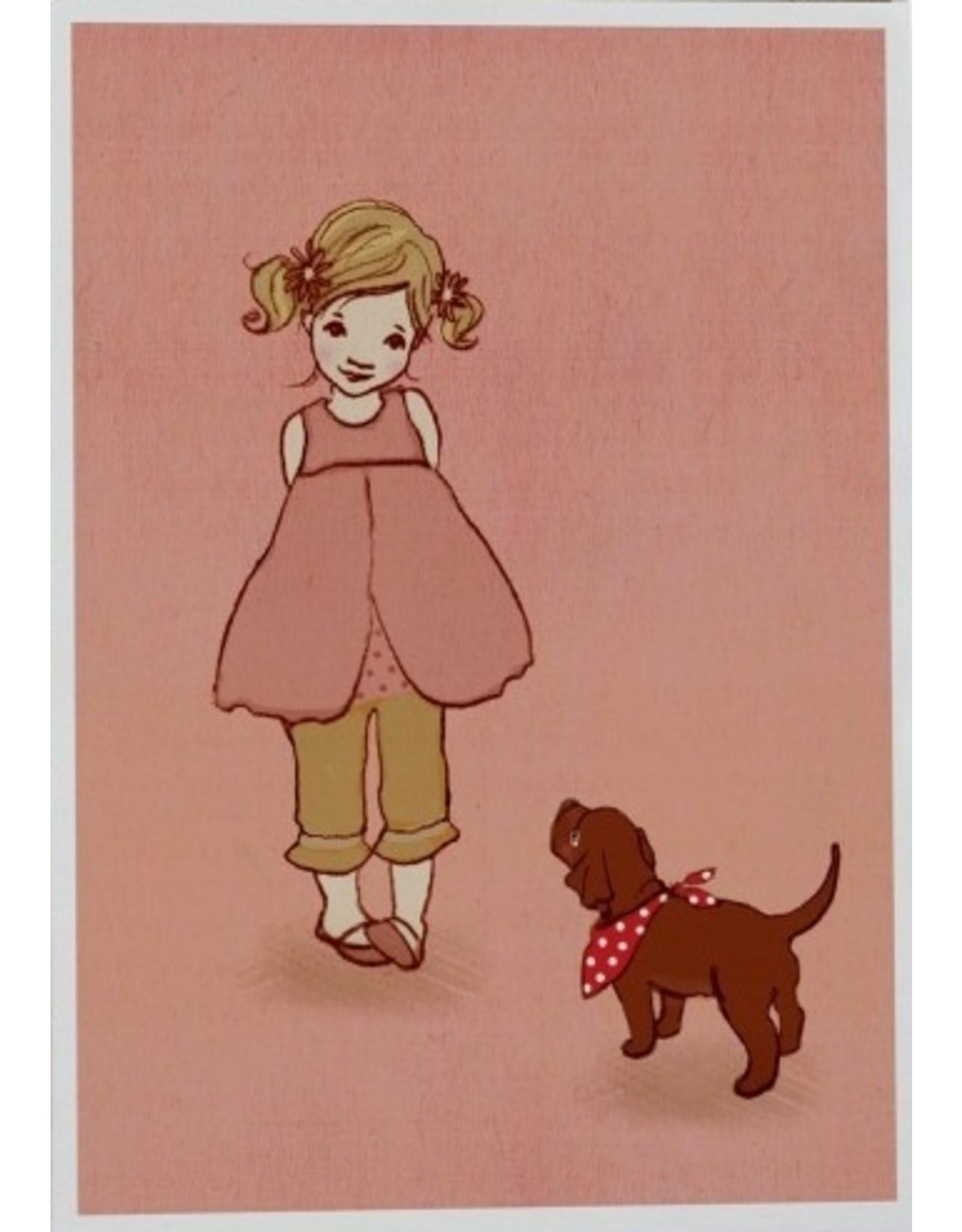 Belle & Boo card - Ava