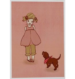 Belle & Boo card - Ava
