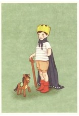 Belle & Boo card - I am King