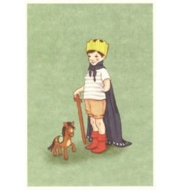 Belle & Boo kaart - ik ben de koning