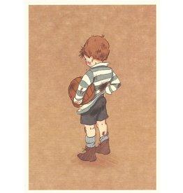 Belle & Boo kaart - voetballer